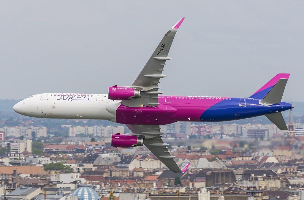 Bandomi nauji Wizzair lėktuvai