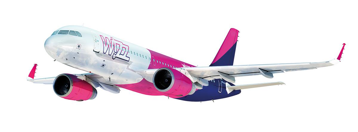 Nauji Wizzair skrydžiai iš Lenkijos