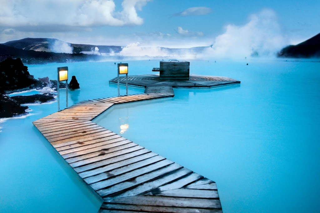 Žydroji Lagūna - Islandija