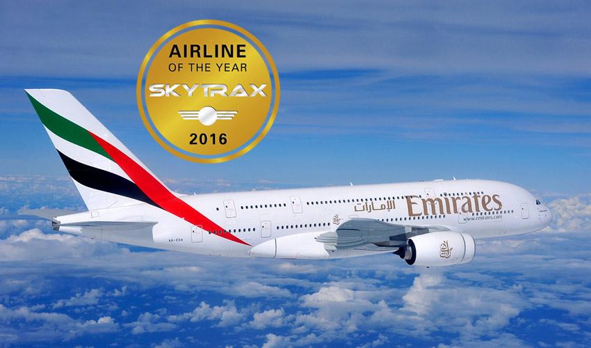 2016 m. geriausios aviakompanijos pasaulyje