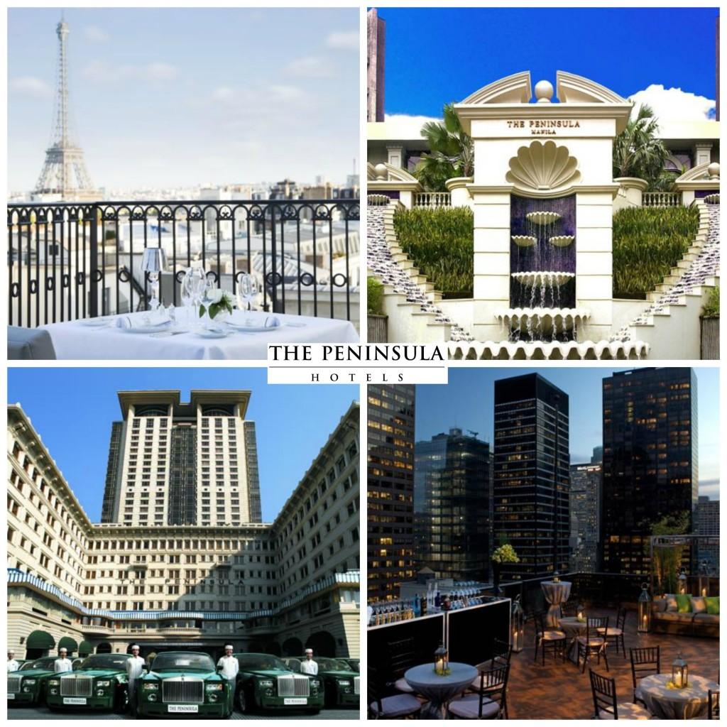 3.The Peninsula Hotels.