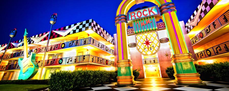 Didžiausi viešbučiai. Disney All-Star Resorts viešbutis Orlande