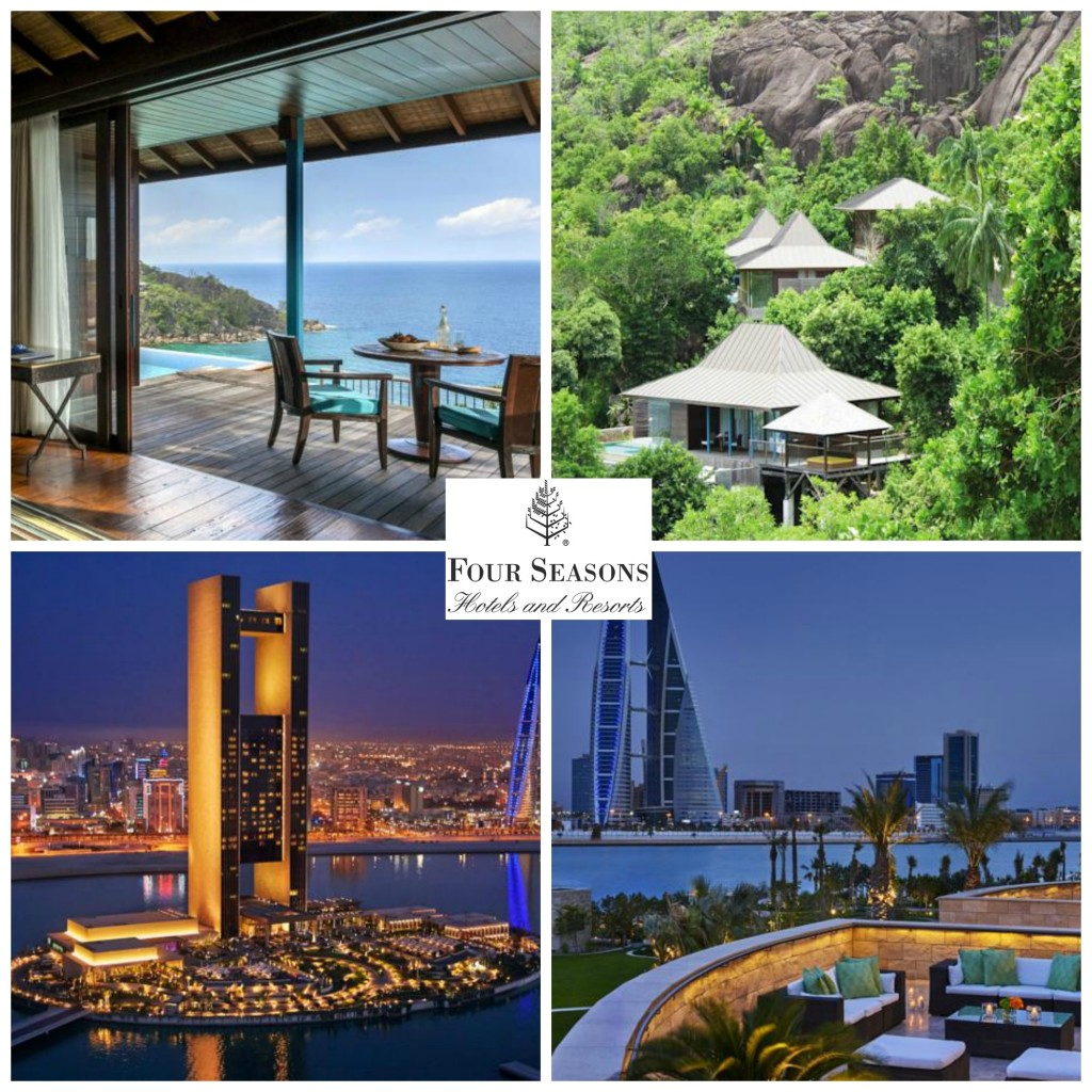 5.Four Seasons Hotels & Resorts.