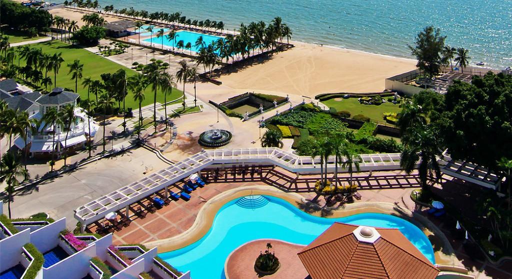 Didžiausi viešbučiai. Ambassador City viešbutis Tailande