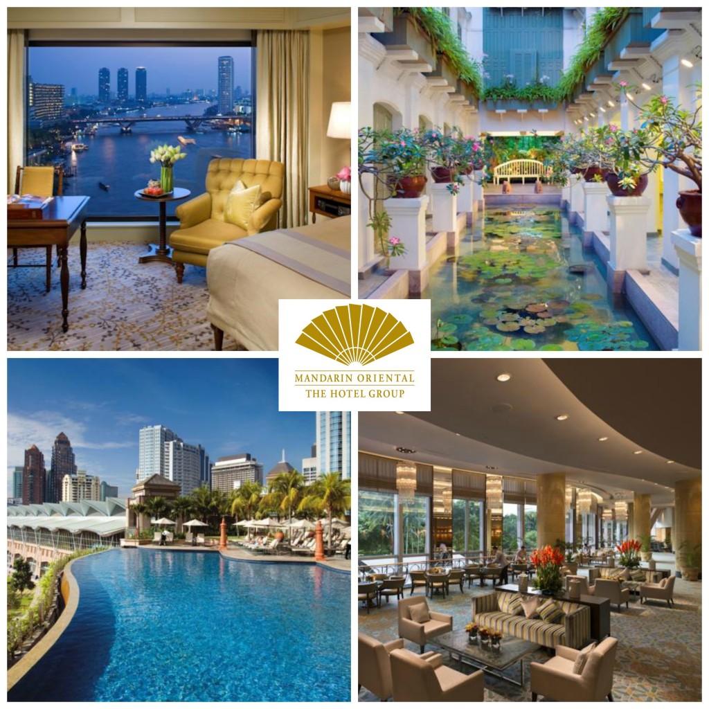 9.Mandarin Oriental Hotel Group.