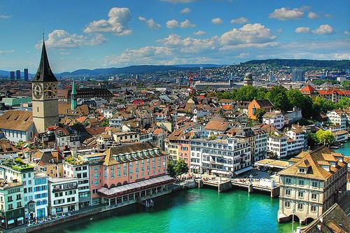Pigūs lėktuvų bilietai į Ciurichą (Šveicarija)