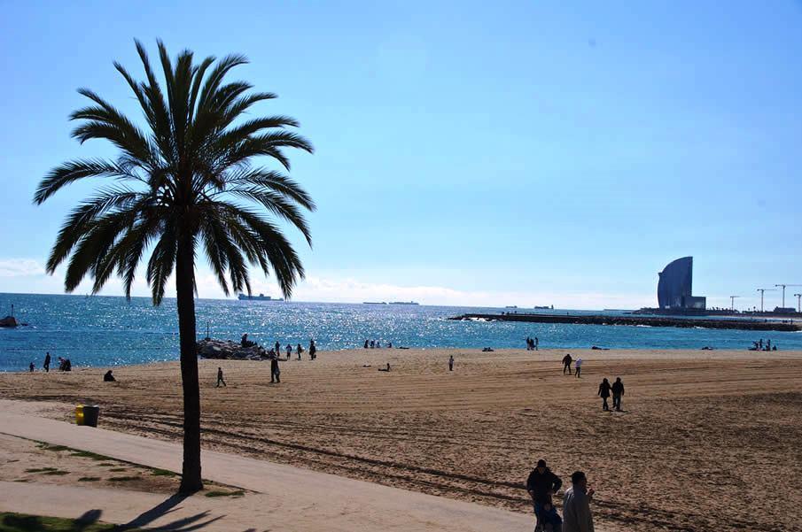 Ką aplankyti Barselonoje. Barceloneta
