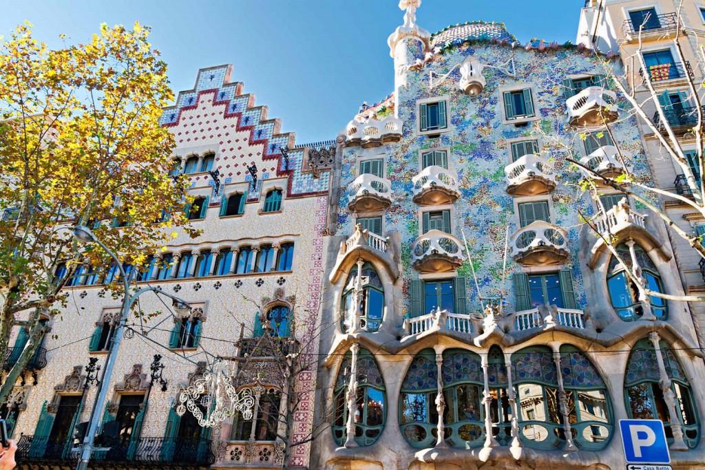 Ką aplankyti Barselonoje. Casa Batllo