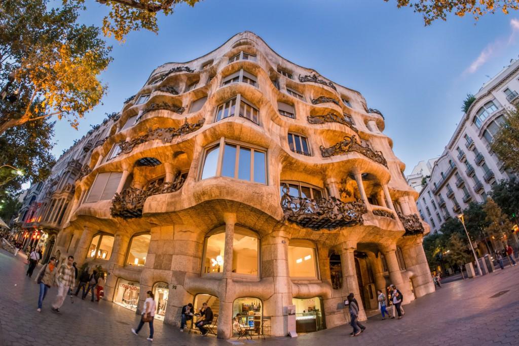 Ką aplankyti Barselonoje. La Pedrera-Casa Mila