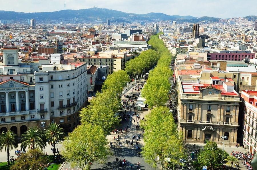 Ką aplankyti Barselonoje. La Rambla
