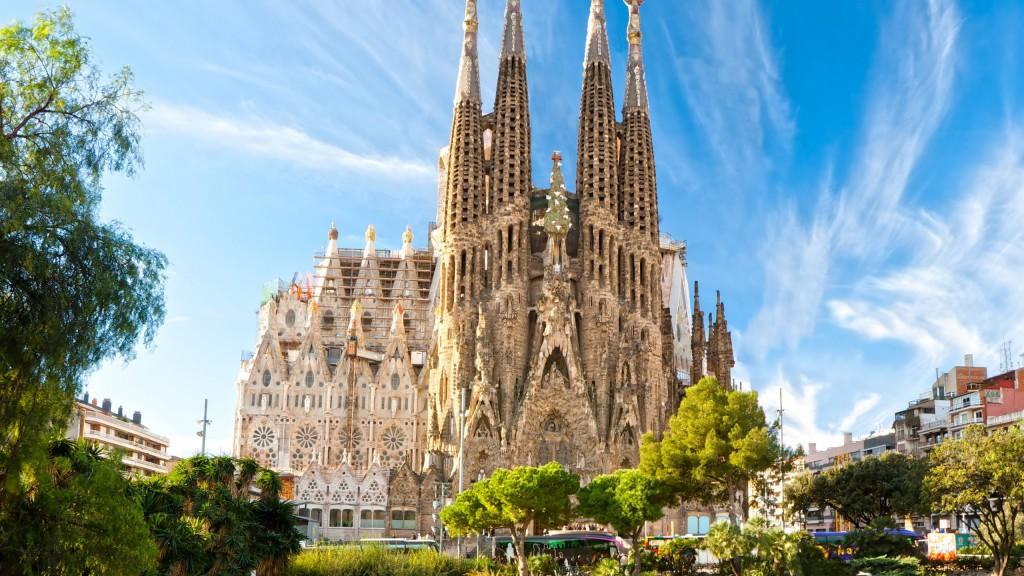 Ką aplankyti Barselonoje. La Sagrada Familia