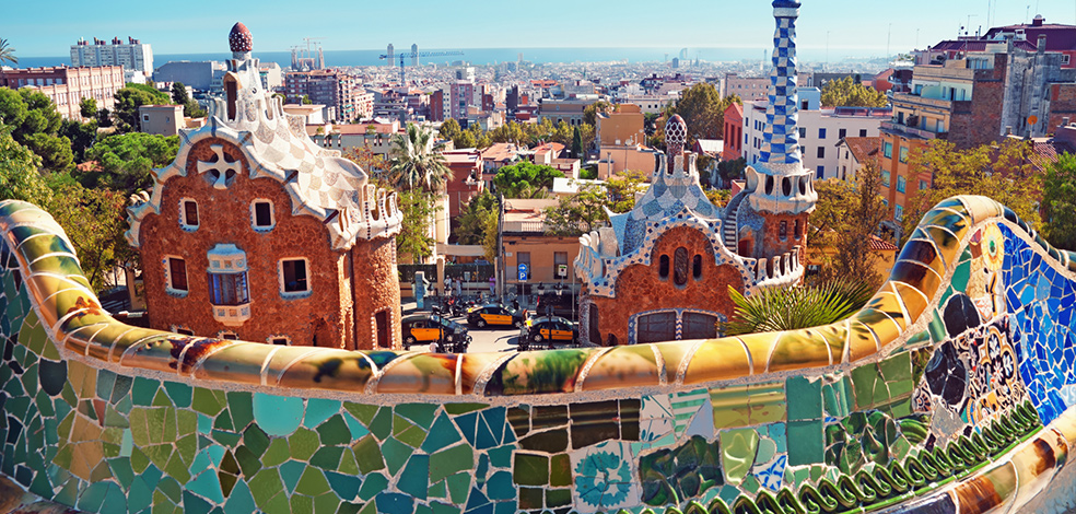 Ką aplankyti Barselonoje. Park Guell