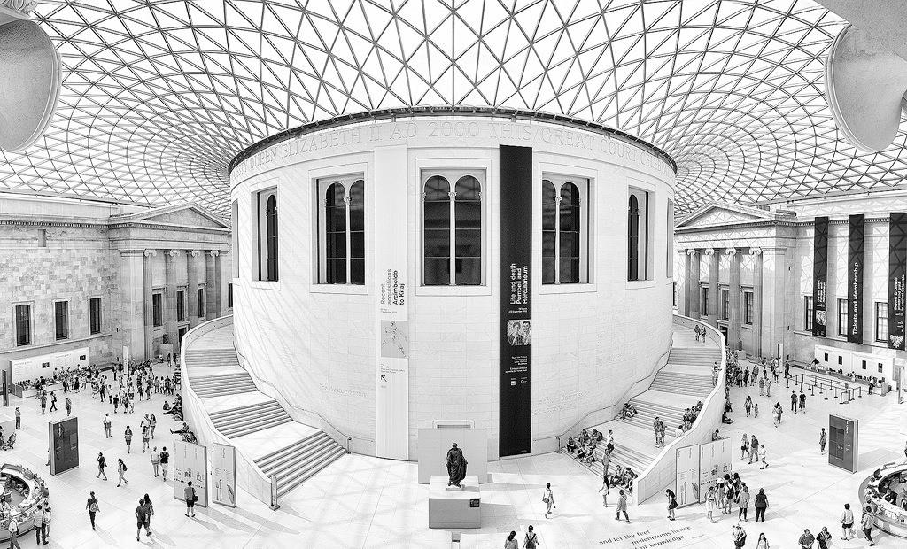 Ką aplankyti Londone. British Museum