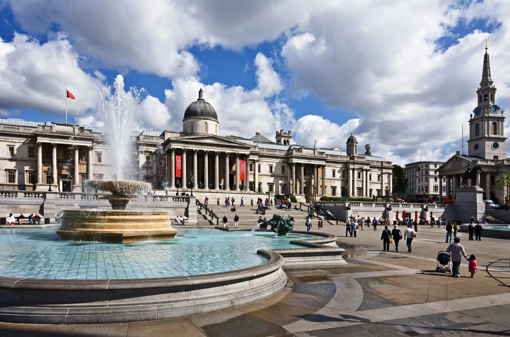 Ką aplankyti Londone. Trafalgaro aikštė