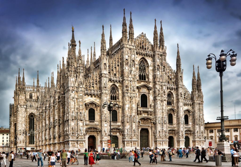 Ką aplankyti Milane. Duomo katedra