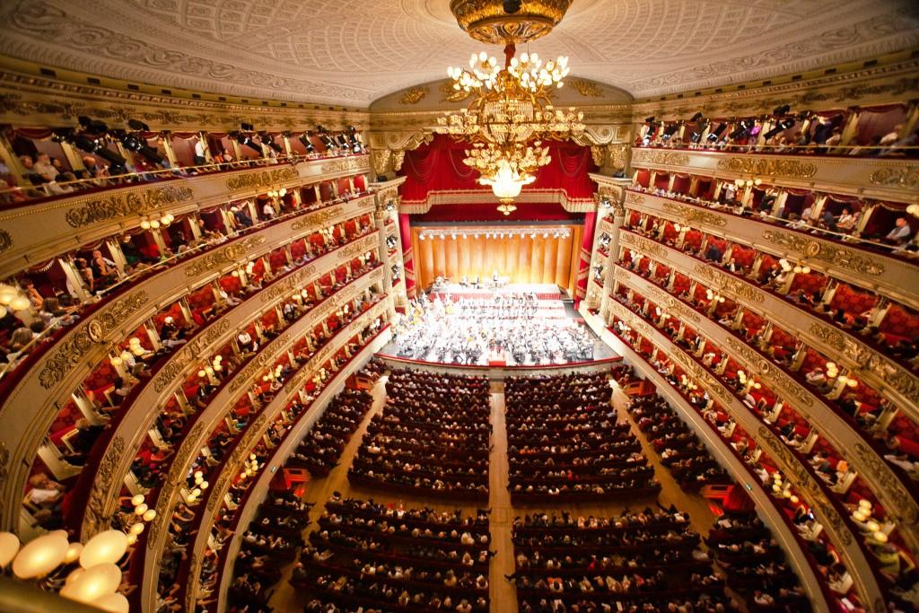 Ką aplankyti Milane. La Scala