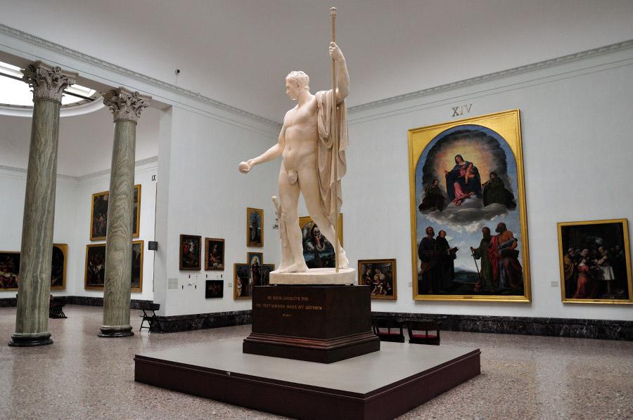 Ką aplankyti Milane. Pinacoteca di Brera