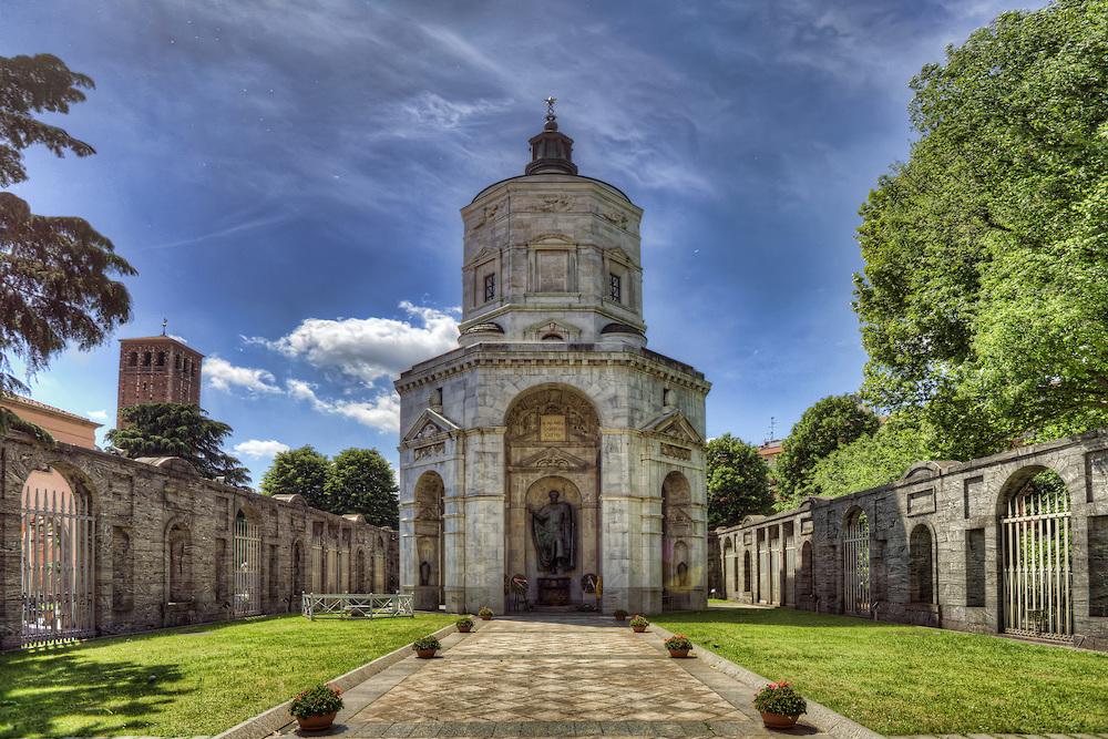 Ką aplankyti Milane. Tempio della Vittoria