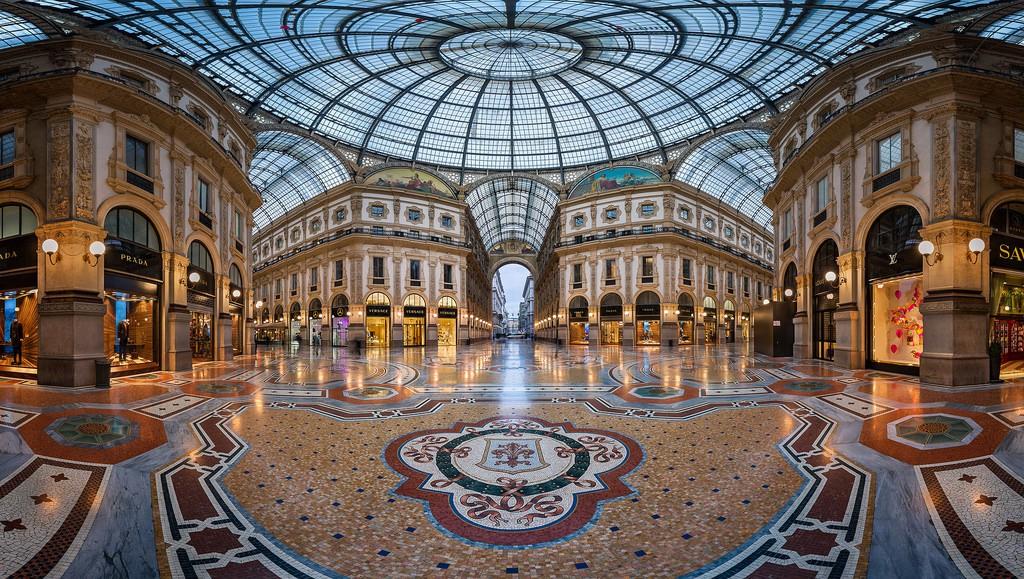 Ką aplankyti Milane. Viktoro Emanuelio II galerija