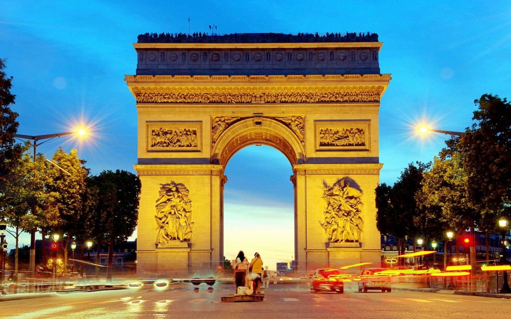 Ką aplankyti Paryžiuje. Triumfo arka