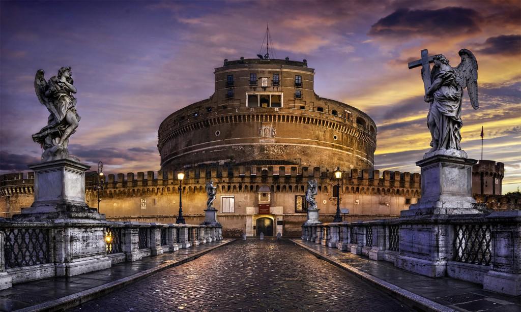 Ką aplankyti Romoje? Šv. Angelo pilis