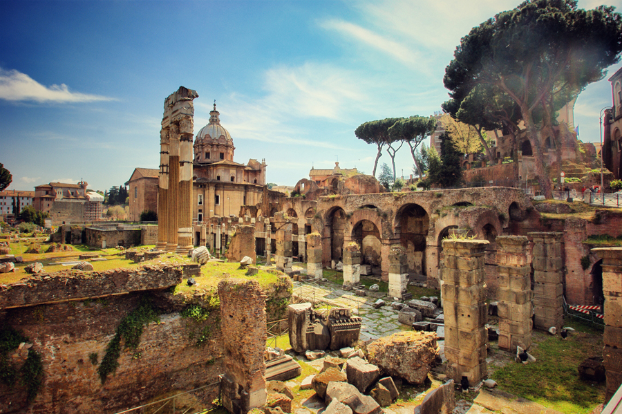 Ką aplankyti Romoje? Palatino kalva