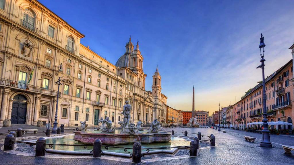 Ką aplankyti Romoje? Piazza Navona