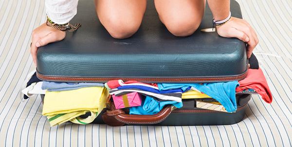Kaip sutalpinti daiktus bagaže.