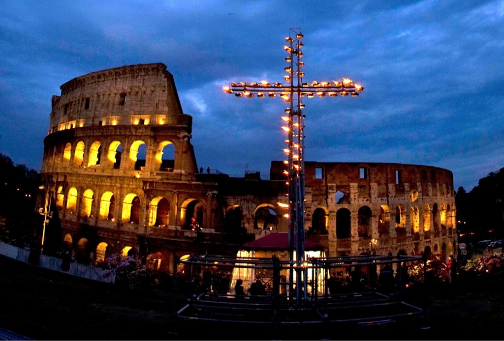 Kur švęsti Velykas - Romoje