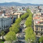 Nemokamos pramogos Barselonoje. La Ramba gatvė
