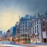 Nemokamos pramogos Madride. Gran Via