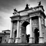 Nemokamos pramogos Milane. Taikos arka