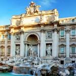 Nemokamos pramogos Romoje. Trevi fontanas