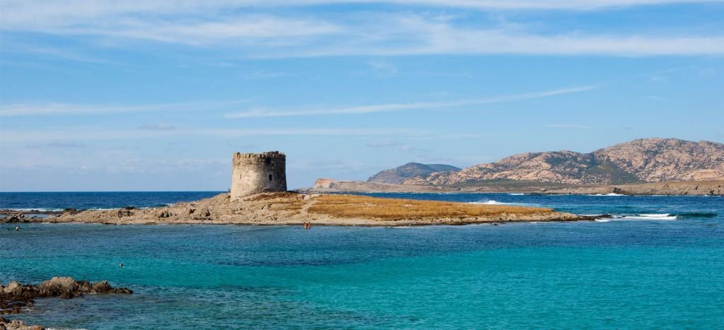 Paplūdimiai Sardinijoje. Stintino