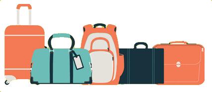 Rankinio bagažo ir registruoto bagažo skirtumai