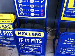 Ryanair bagažas