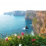 Ryanair lėktuvų bilietai į Airiją. Mohero uolos