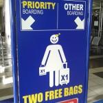 Ryanair rankinis bagažas