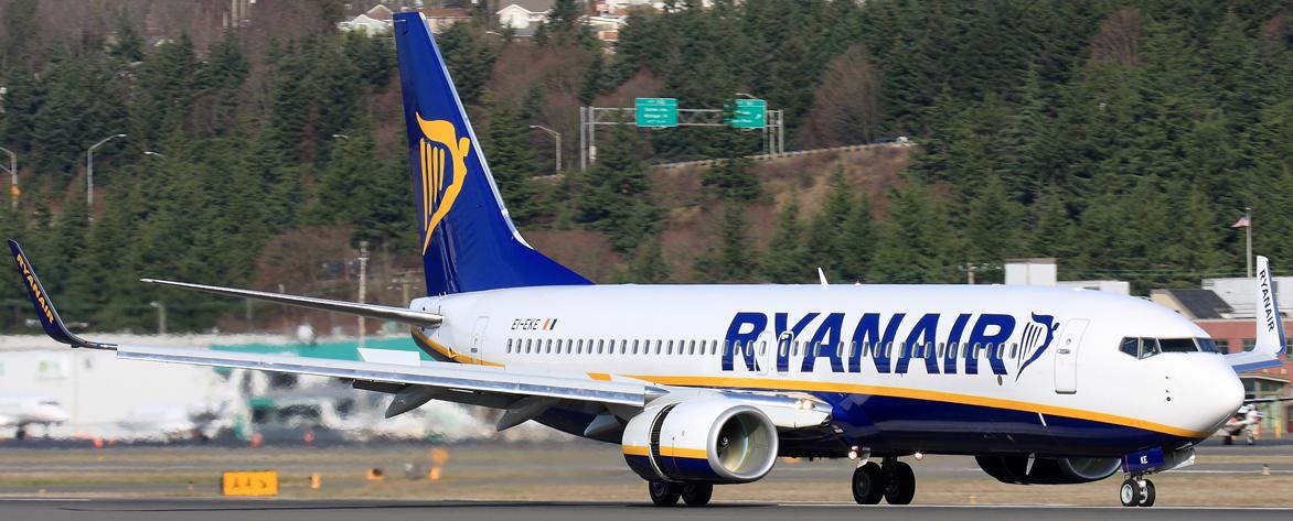 Ryanair skrydžiai su vaikais