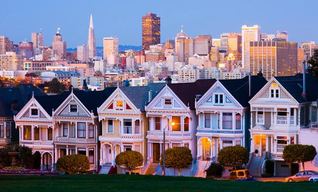 Pigūs lėktuvų bilietai į San Franciską
