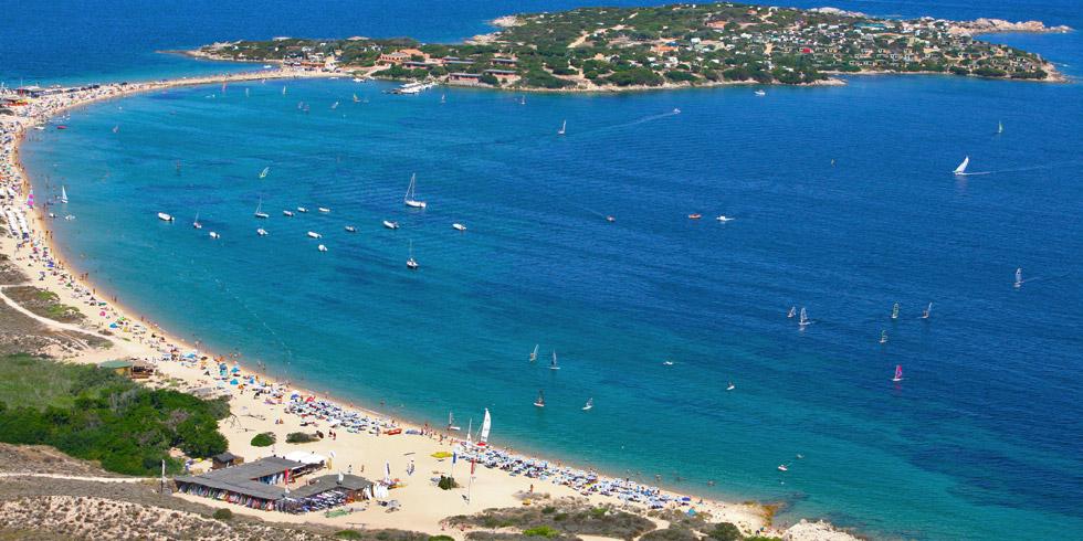 Sardinija. Isola dei Gabbiani