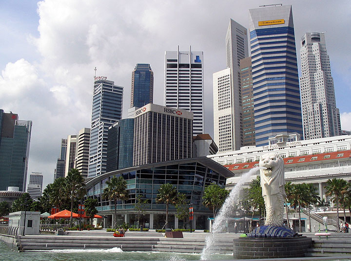 Pigūs lėktuvų bilietai į Singapūrą