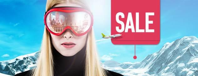 airBaltic žiemos skrydžių išpardavimas