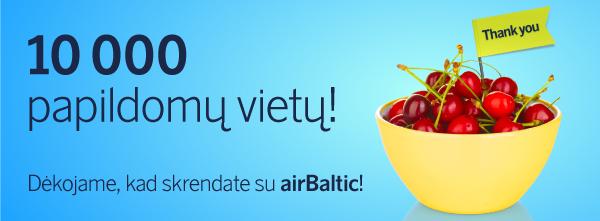 pigus airbaltic lektuvu bilietai