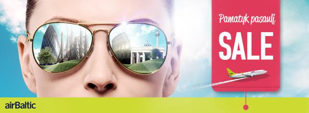 airBaltic išpardavimas