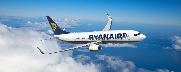 Ryanair lėktuvų bilietai: naujovės
