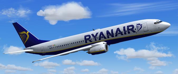 Ryanair lėktuvų bilietai