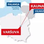 Tiesioginiai skrydžiai iš Kauno į Varšuvą
