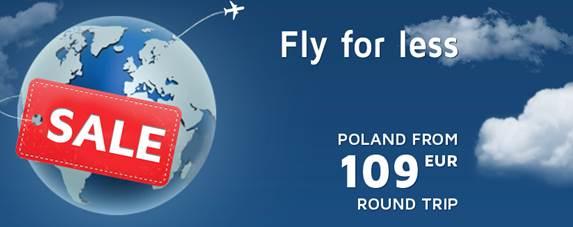 LOT akcija! Pigūs skrydžiai į Lenkiją
