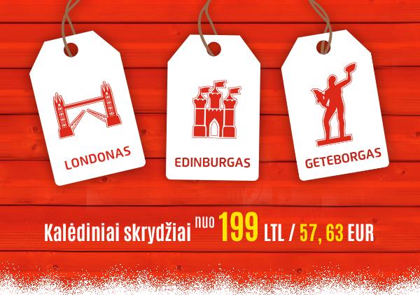 Air Lituanica ruošiasi Kalėdiniam laikotarpiui